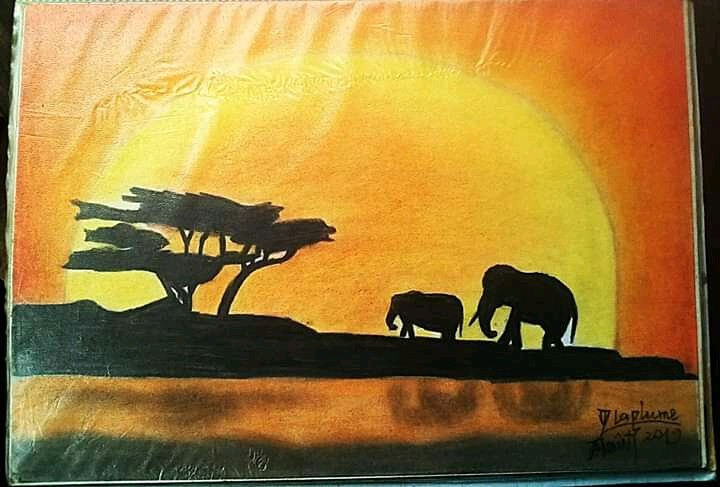 Paysage d'Afrique
