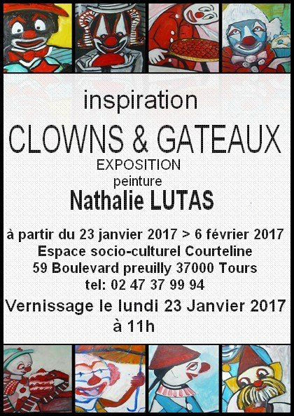 INSPIRATION CLOWN ET GATEAU