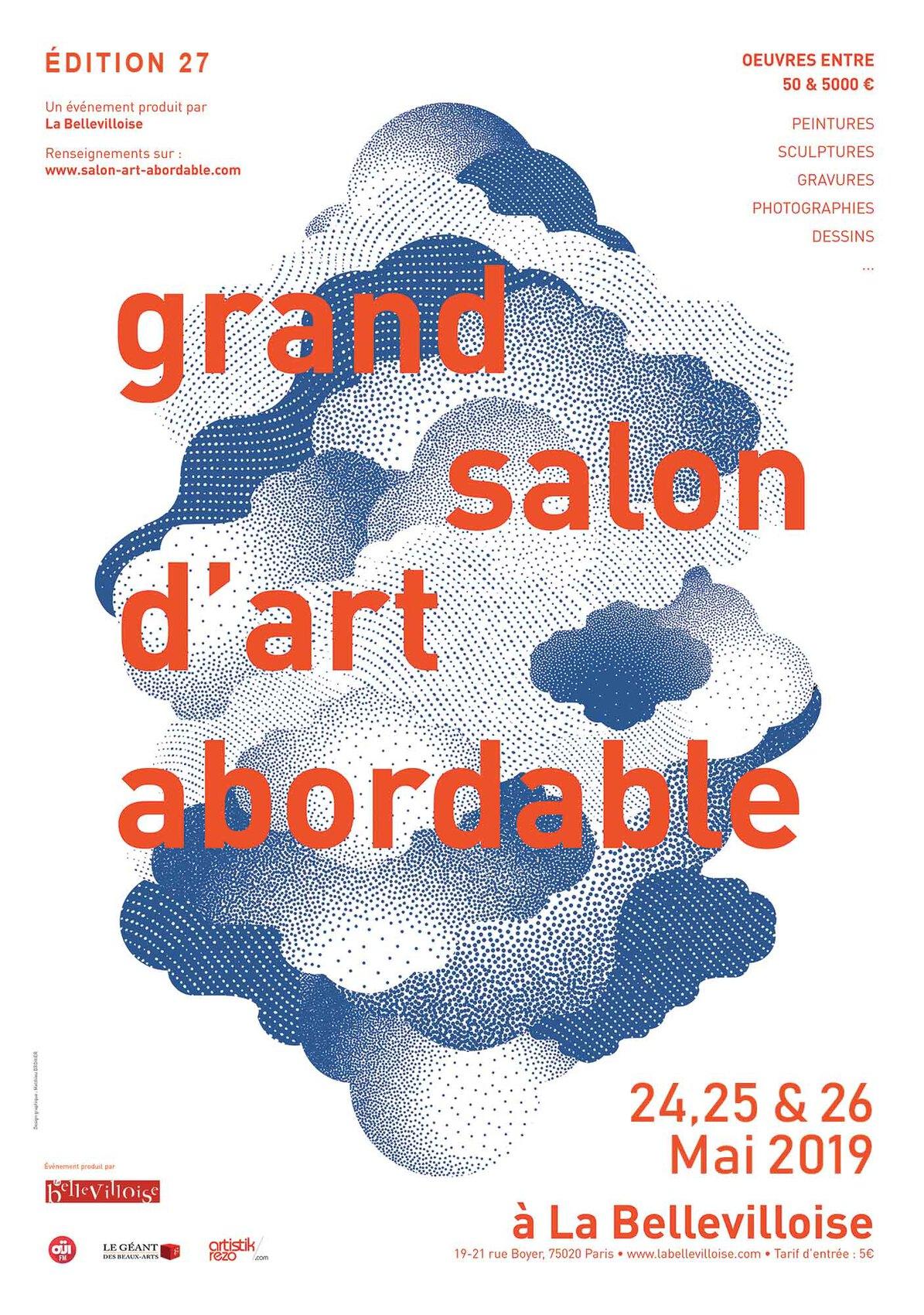Grand salon d'art abordable