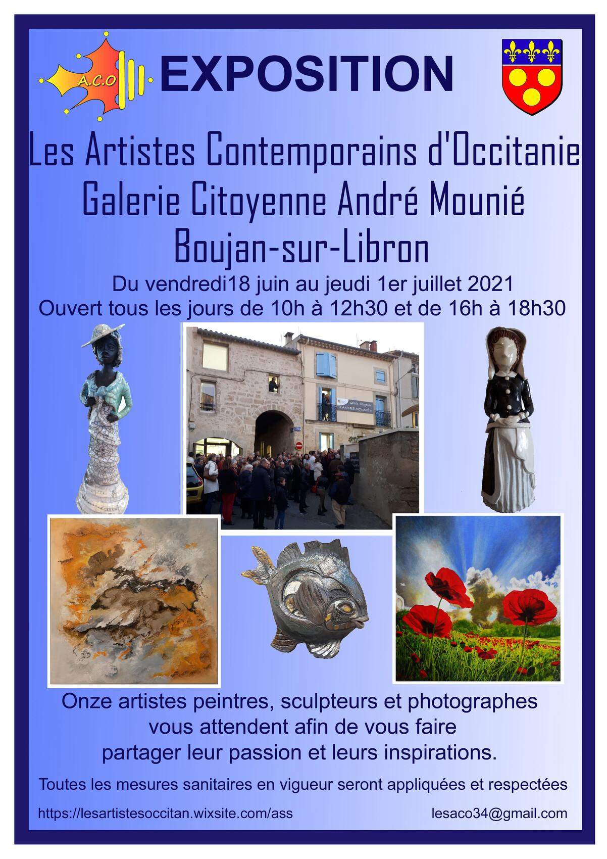 Exposition à la Galerie Ctoyenne André Mounié