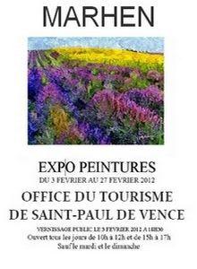 Expo. Vernissage, St.Paul de Vence
