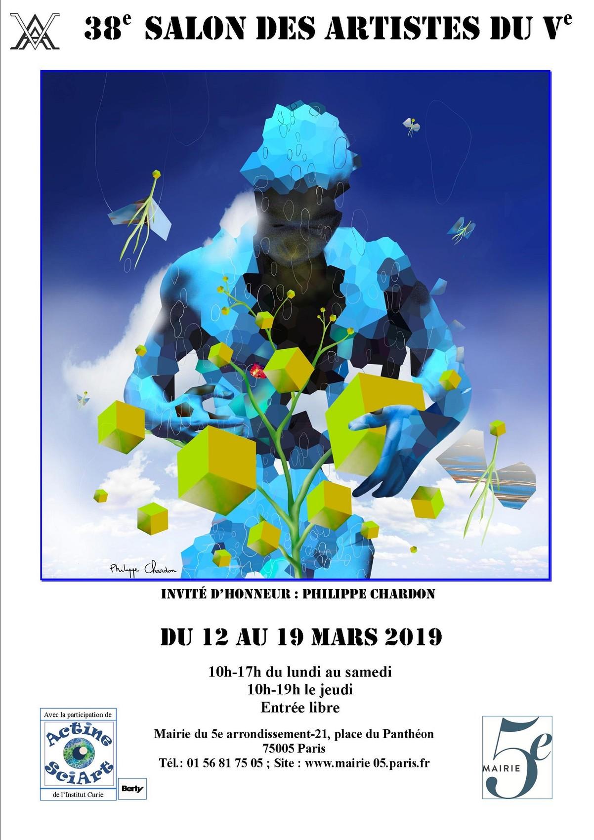 38ème Salon des Artistes du Ve