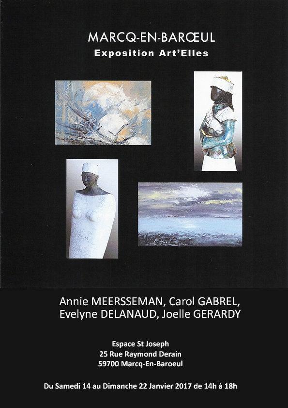 Exposition Art'Elles: Quatre femmes quatre artistes