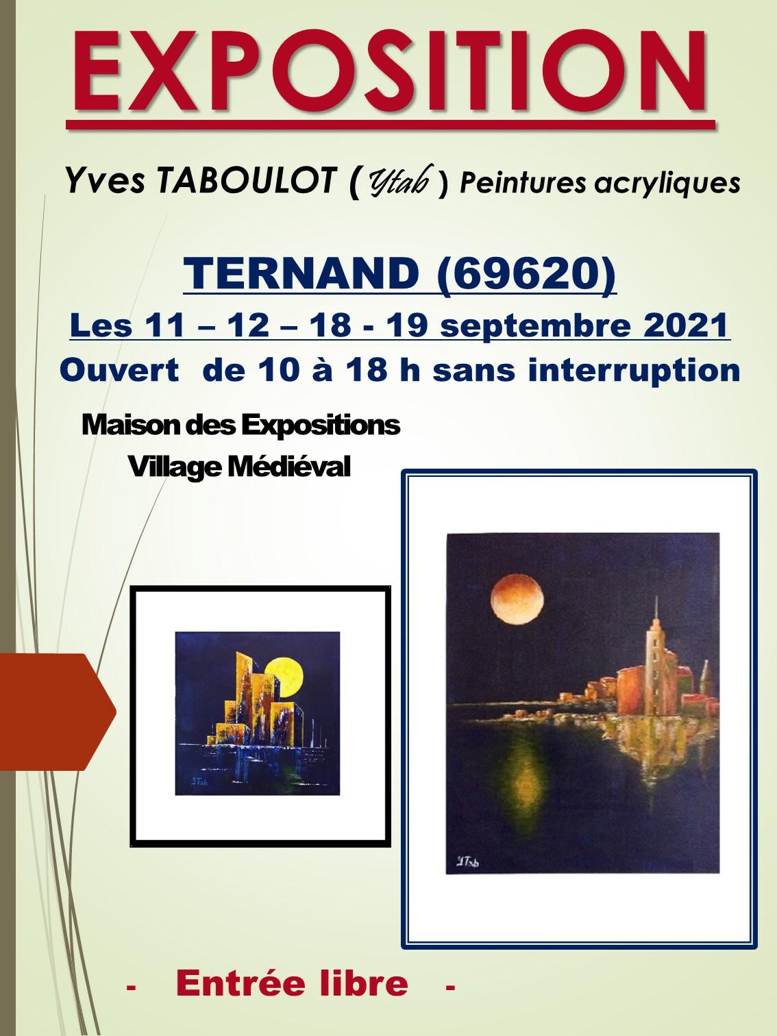 EXPO à 69620 TERNAND