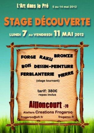 Stage découverte