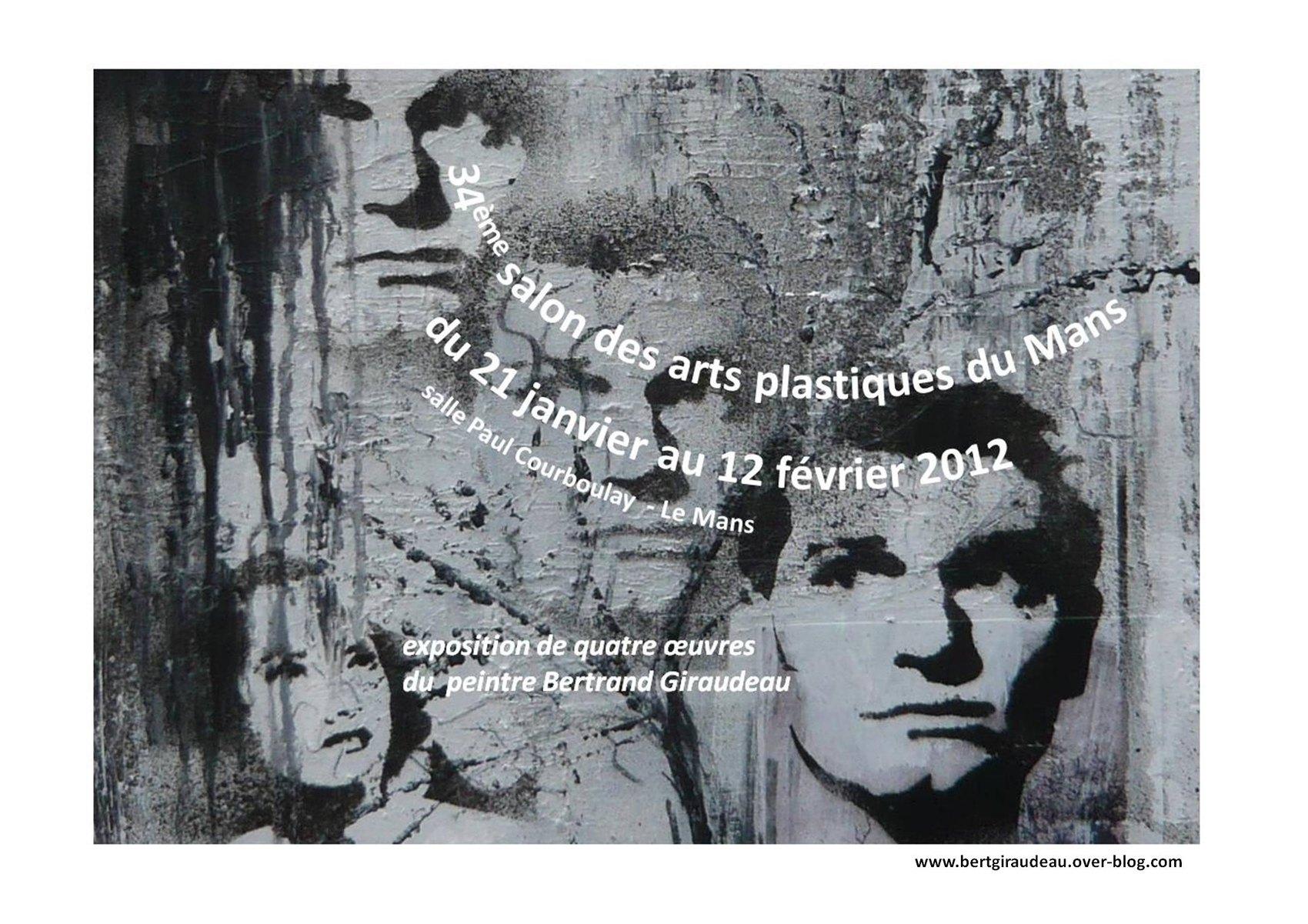 34ème salon des arts plastiques du Mans