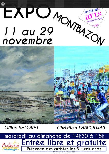 Exposition peintures Montbazon