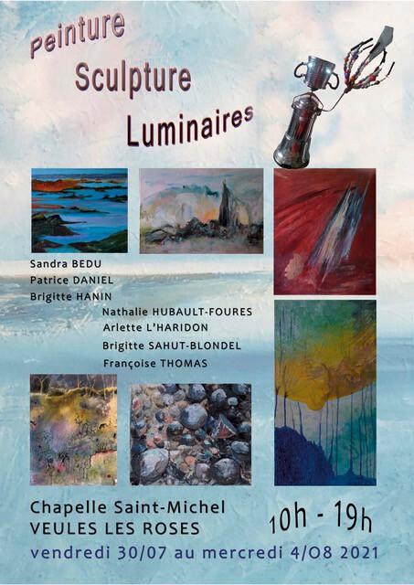 Exposition Association Peinture et Partage