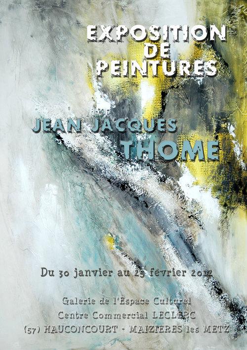 Jean Jacques THOME expose à MAIZIERES les METZ