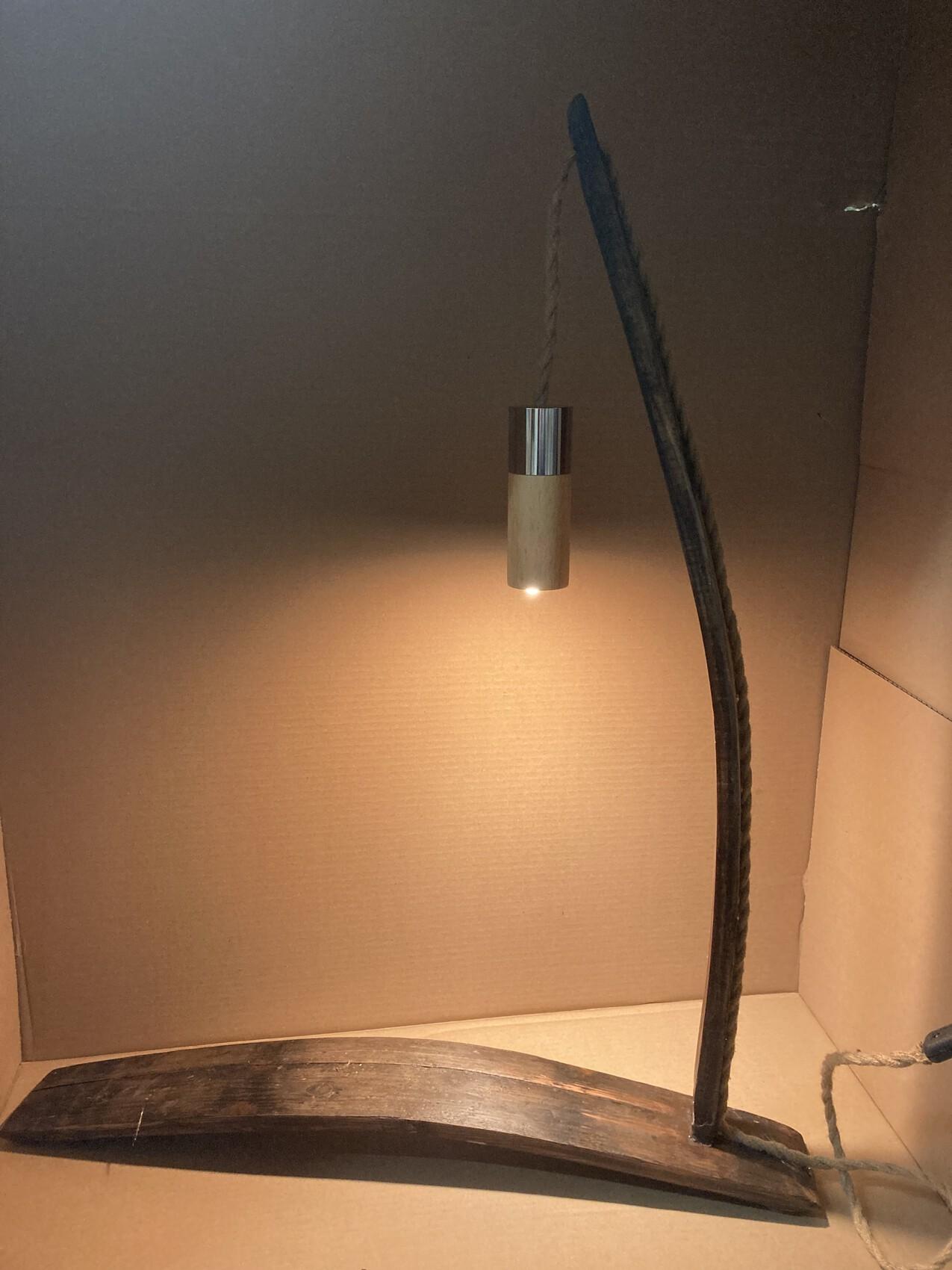Lampe douelle
