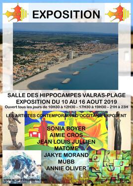 Exposition - Salle des Hippocampes - Valras Plage