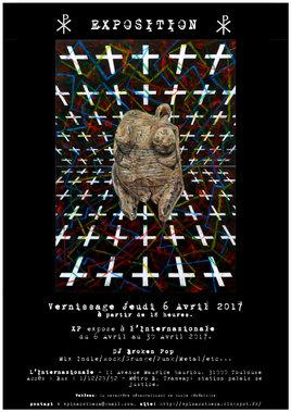 XP expose au Bar L'internazionale à Toulouse