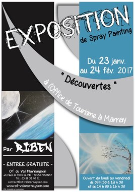"Spraypainting ""Decouvertes"""