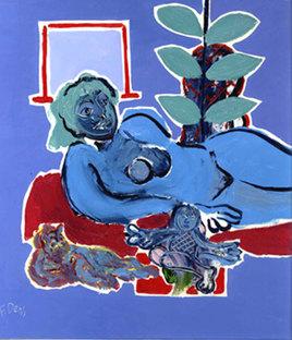 Francis DENIS ( peintre ) sur MOCKUERY TIVI