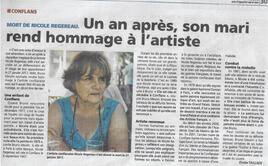 ARTICLE PARU DANS LA GAZETTE DU VAL D'OISE