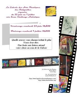 CHALLENGE ARTISTIQUE 2  Finissage