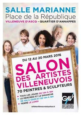 Salon des Artistes Villeneuvois