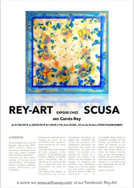 REY-ART expose chez SCUSA