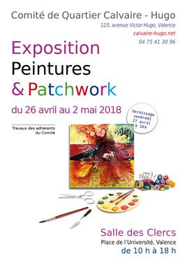 Expo  peintures & Patchwork