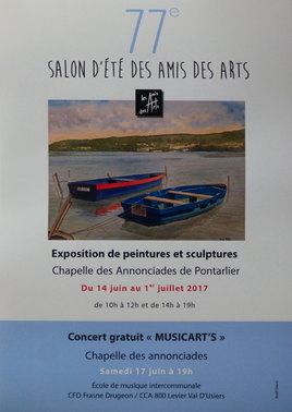 Salon d'été des Amis des Arts de Pontarlier