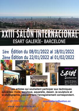 XXIII Salón International  Esart Galerie Barcelone 2022