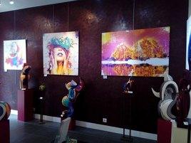 Exposotion à la Galerie d'Art Nicole Salamone
