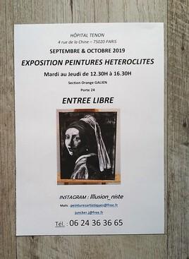 EXPOSITION Médiathèque TENON  - PARIS -