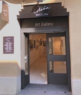 """Exposition à la galerie """"Cobena Barcelona"""""""
