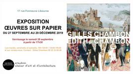 Œuvres sur Papier - Gilles Chambon - Edith Chambon