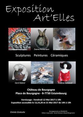 Exposition Art'Ellesau Château de Bourgogne (B)