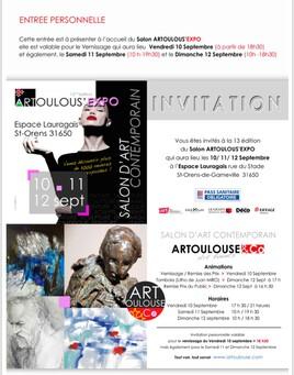 Artoulouse Expo a l espace Lauragais