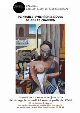 Les peintures synchronistiques de Gilles Chambon