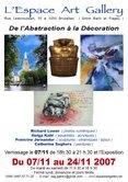 De l'Abstraction à la Décoration