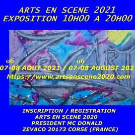 ARTS EN SCENE 2020