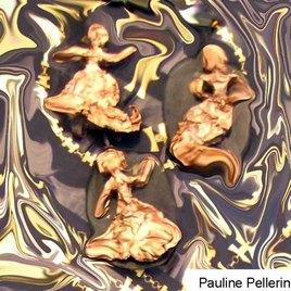 Trois anges  qui dansent