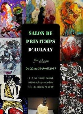 3eme edition du salon d'Art de Printemps à Aulnay