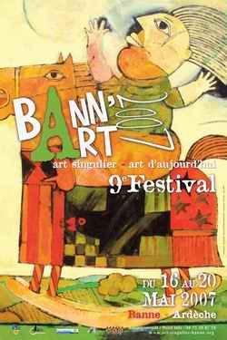 Nicolas Jonval au 11ème Festival d'art singulier, art d'aujourd'hui