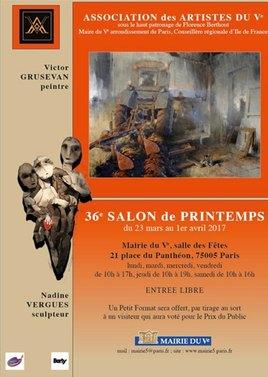 36e SALON DE PRINTEMPS DES ARTISTES DU 5e ARR.