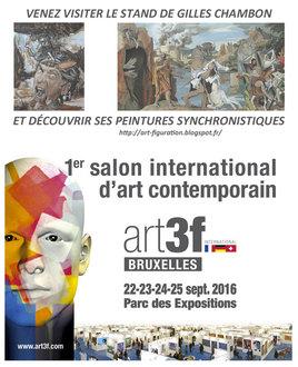 Exposition de G. Chambon au Salon ART3F de Bruxelles