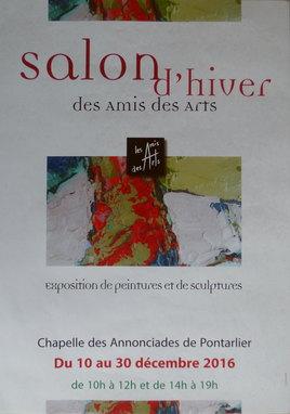 Salon d'hiver des Amis des Arts de Pontarlier