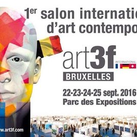 Salon d'Art Contemporain art3F Bruxelles