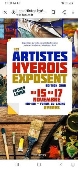 Les artistes Hyerois exposent