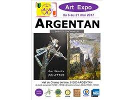 EXPOSITION ART EXPO 2017 à ARGENTAN