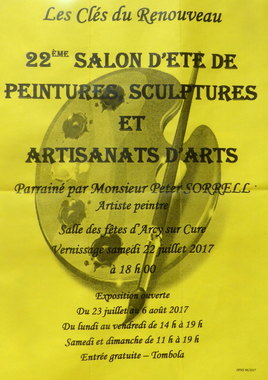 22ème salon d'été de peintures et sculptures artisans d'arts