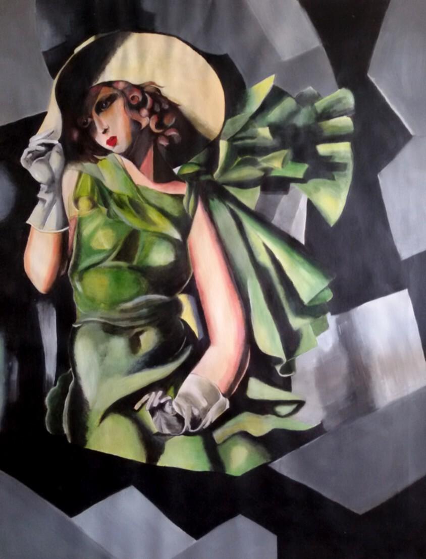 La dame en vert