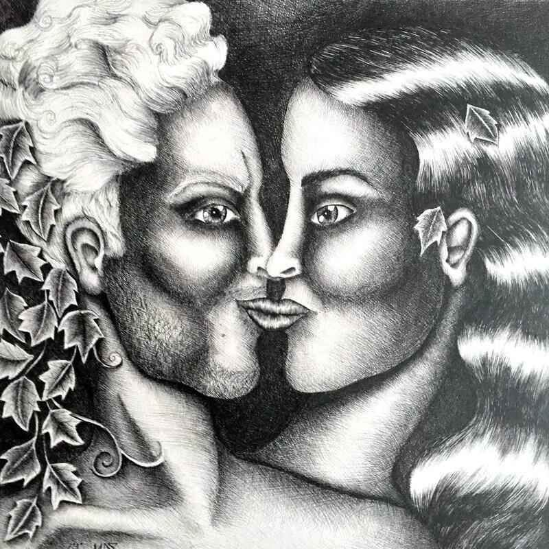 Flamme Jumelle le couple divin