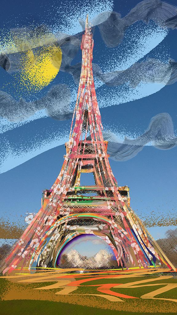 La belle d'Eiffel