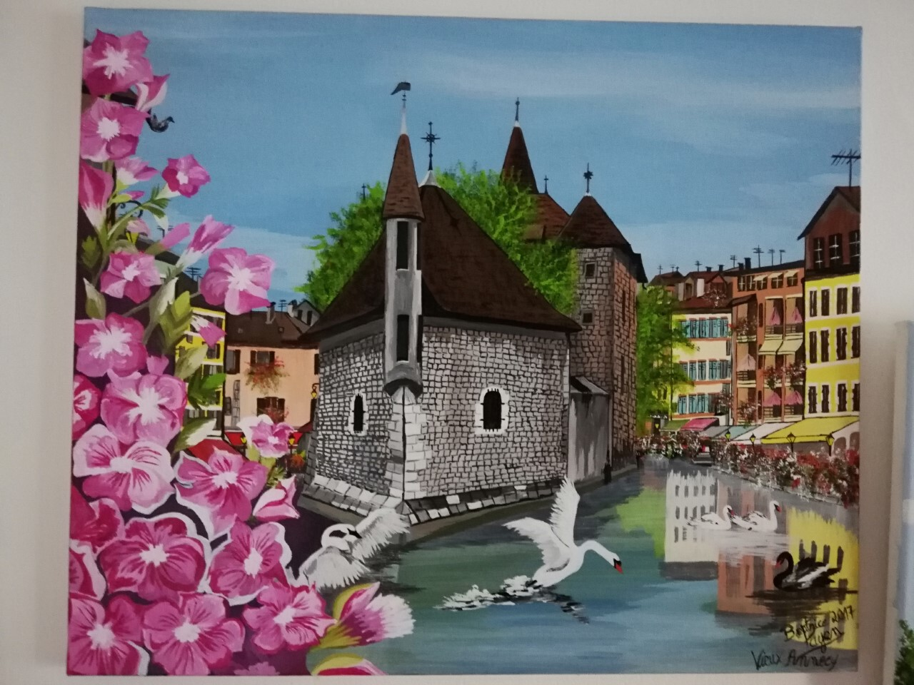 Annecy et son ancienne prison