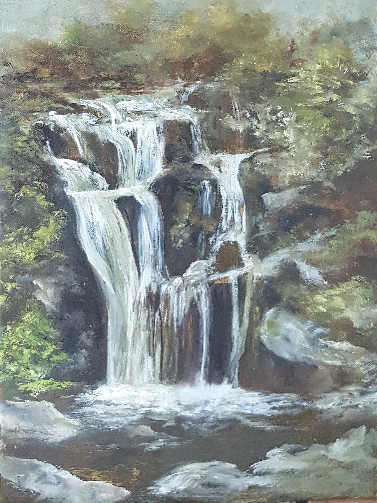 cascade d'Auvergne