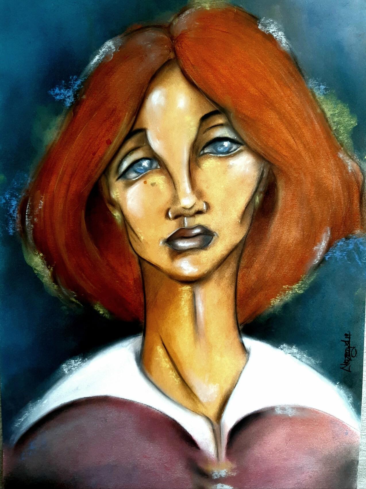 Madame Hélène (60×42cm)